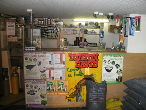 Boutique : Growshop - Marseille