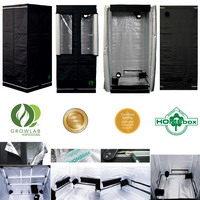 L 39 or vert tente growlab homebox chambre de culture - Chambre de culture 80x80x180 ...