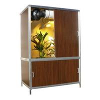 L 39 or vert placard de culture growbox gtools cabinet g - Kit chambre de culture ...