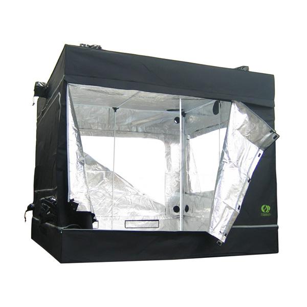 L 39 or vert tente growlab homebox chambre de culture growlab 240 240x240xh 200 cm - Chambre de culture hydroponique ...