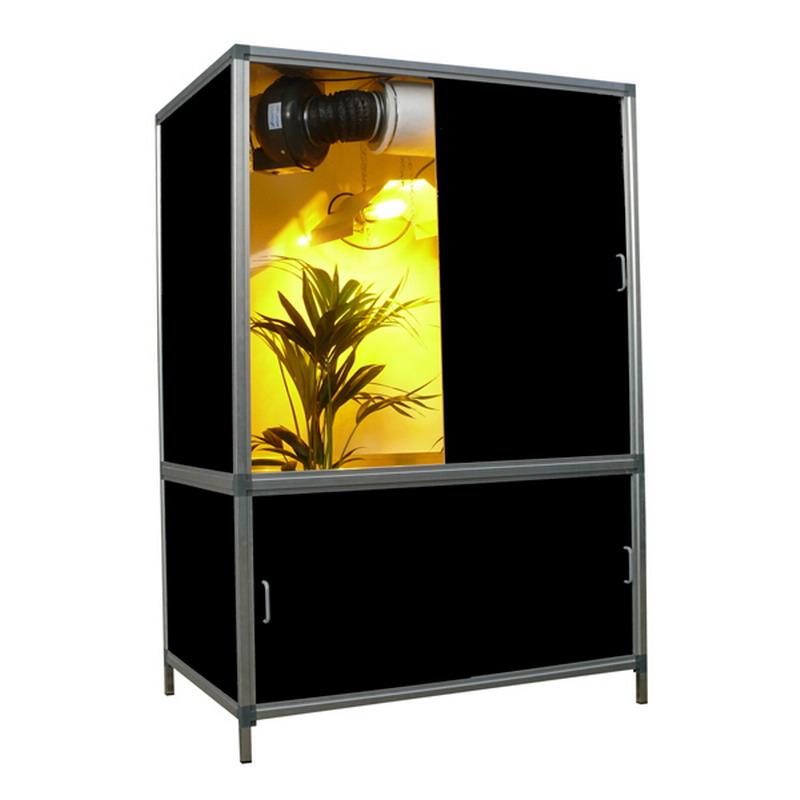 culture cannabis placard culture en armoire de m x m with. Black Bedroom Furniture Sets. Home Design Ideas
