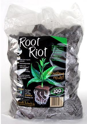 L 39 or vert hormone de bouturage root riot sachet de 100 blocs - Hormone de bouturage ...