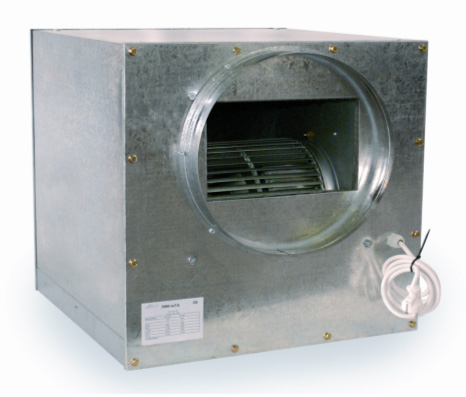 L 39 or vert extracteur d 39 air caisson box insonoris for Extracteur d air hygroreglable