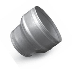 L 39 or vert gaine et raccords for Extracteur d air 80 mm